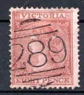 VICTORIA - (Colonie Britannique) - 1867-78 - N° 60 - 8 P. Lie-de-vin S.rose - (Victoria) - Nuovi