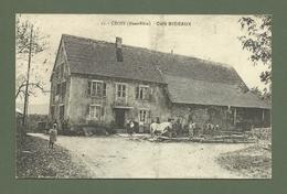 CARTE POSTALE 68 HAUT RHIN CROIX CAFE BIDEAUX - France