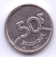 BELGIQUE 1989: 50 Fr., KM 168 - 08. 50 Francs