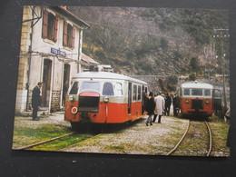 CIE C.F.D. De La Lozère Gare De Saint Frézal De Ventalon - Autres Communes