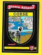 CORSE Blason Adhésif (Kroma N° 586) - France