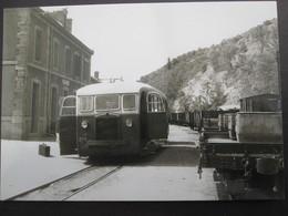 FLORAC (Lozère): C.F.D. De La Lozère , Intérieur De La Gare - Florac