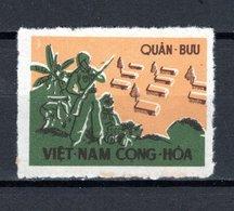 VIETNAM DU SUD   FM   N° 1     NEUF SANS CHARNIERE COTE  25.00€   SOLDATS - Vietnam