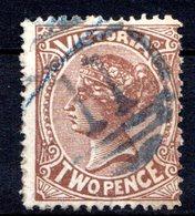 VICTORIA - (Colonie Britannique) - 1881-83 - N° 76 - 2 P. Brun - (Victoria) - Mint Stamps