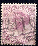 VICTORIA - (Colonie Britannique) - 1881-83 - N° 77 - 2 P. Lilas - (Victoria) - Oblitérés