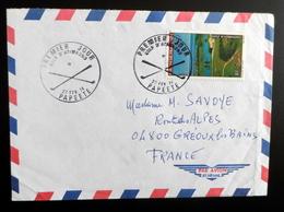 Polynesie FDC  GOLF D'Atimaono  24 F. 24/02/1974  Papeete  Circulée - FDC