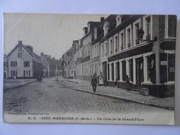 CPA MARQUISE--UN COIN DE LA GRAND' PLACE - Marquise