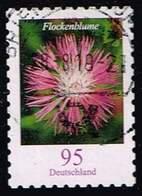 Bund 2019,Michel# 3483 O Blumen: Flockenblume, Selbstklebend - [7] Federal Republic