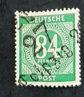 Allemagne - Germany - Bizone 1947 - N° 26 - 84p Vert - Neuf ** - TB - Oblitérés