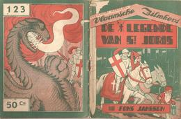 Vlaamsche Filmkens Nr 123 De Legende Van St Joris Fons Janssen ( Averbode's Jeugdbibliotheek ) - Libri, Riviste, Fumetti