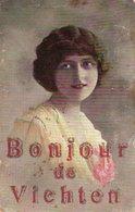 """LUXEMBOURG -- """"Bonjour De VICHTEN"""" ,édit: ? - - Cartes Postales"""