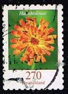 Bund 2019,Michel# 3490 O Blumen: Habichtskraut, Selbstklebend - Gebraucht