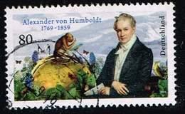 Bund 2019,Michel# 3492 O 250. Geburtstag Von Alexander Von Humboldt - Gebraucht