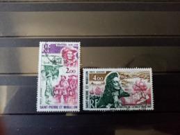 SAINT PIERRE Et MIQUELON. 1973. Poste Aérienne N°54.56. Oblitérés. - St.Pierre Et Miquelon