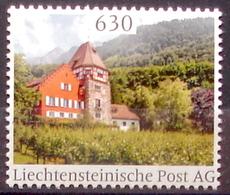 """Liechtenstein 2020: """"Rotes Haus In Vaduz"""" (CHF 6.30) Taxe Für Einen R-Brief Bis 1 Kg Im FL Und Der Schweiz (DieMarke Li) - Errors & Oddities"""