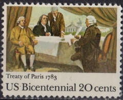ETATS UNIS D'AMERIQUE - Bicentenaire Du Traité De Paris - United States