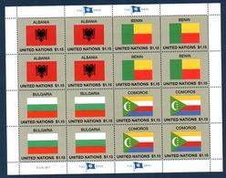 ONU Nations Unies - Vereinte Nationen - New York 2017 - United Nations - Sheet 1537 1538 1539 1540 - Neuf ** MNH - ONU
