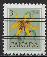 Canada 1977. Scott #708 Pre (U) Flower, Canada Lily - Canada