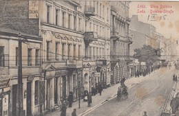 POLAND  / POLEN / POLOGNE / LODZ / ULICA DZIELNA / DZIELNA STRASSE  1915  FELDPOST - Poland