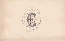 Faire Part De Fiançailles 1908 - Verlobung