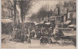 COSNE-sur-LOIRE, Le Marché - Cosne Cours Sur Loire