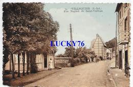 Villequier Rue Naguet De Saint Vulfran - Villequier