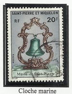 SAINT PIERRE ET MIQUELON SPM N° 417 ° Oblitéré 1971 Cloche - Used Stamps