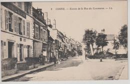 COSNE, Entrée De La Rue Du Commerce - 8 LL - Cosne Cours Sur Loire