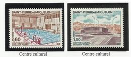 SAINT PIERRE ET MIQUELON SPM N° 431 à 432 ** Neufs 1973 - Neufs