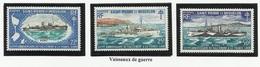 SAINT PIERRE ET MIQUELON SPM N° 414 à 416 * Neufs 1971 Bateau - Unused Stamps