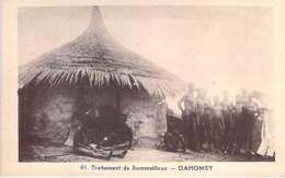 DAHOMEY Bénin (ex AOF) MALADIE DU SOMMEIL Sleeping Sickness : Traitement De Sommeilleux - CPA Afrique Noire Black Africa - Dahomey