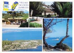 83 Presqu'Ile De Giens La Badine Village Vacances Famille Divers Aspects (2 Scans) - Hyeres