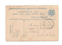 CP à L'usage Du Militaire - Janvier 1915 - Guerre 1914-18