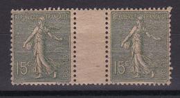 D138 / N° 130 PAIRE / PAPIER GC NEUF** COTE 22€ - France