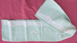 LINGE ANCIEN - Drap Brodé Enfant - 114 Cm X 166 Cm - Bed Sheets