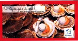 CP Recette, Noix De Saint-Jacques Aux Endives, Label Rouge, Hauts-de-France - Recettes (cuisine)