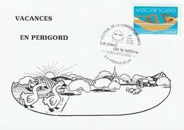 Périgueux-24 Dordogne (Le Pied De La Lettre 2001 : Vacances YT 3493), Carte Postale Illustrée Du 08-06-2002 En FDC - 2000-2009