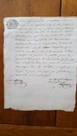 GENERALITE MONTPELLIER 1786  MR BLANC - Gebührenstempel, Impoststempel