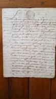 GENERALITE MONTPELLIER 1772  JEAN GAIRAL / MAILHAC 2 SOLS - Matasellos Generales