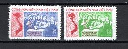 VIETNAM GRP   N° 45 + 46     NEUFS SANS CHARNIERE COTE 3.00€    CARTE ELECTION - Viêt-Nam