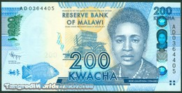 TWN - MALAWI 60a - 200 Kwacha 1.1.2012 Prefix AD UNC - Malawi