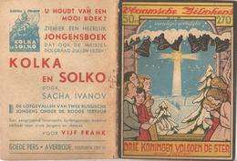 Vlaamsche Filmkens Nr 270 Drie Koningen Volgen De Ster Jottier ( Averbode's Jeugdbibliotheek ) - Libri, Riviste, Fumetti