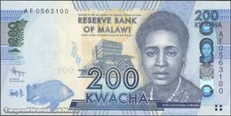 TWN - MALAWI 60a - 200 Kwacha 1.1.2012 Prefix AF UNC - Malawi
