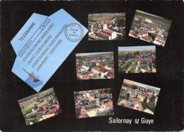 71-SALORNAY SUR GUYE-N°T573-A/0349 - Autres Communes