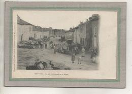 CPA - (88) CHATENOIS - Aspect De L'entrée Du Bourg Par La Rue Des Cultivateurs (ou Du Breuil) En 1900 - Paul Testart - Chatenois