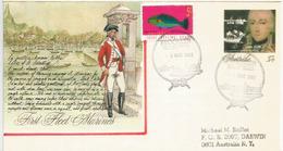 AUSTRALIA.First Fleet Convicts. Première Flotte De 760 Condamnées Au Bagne.Janvier 1788. Special Cover - Historia