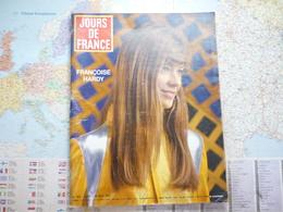 Jour De France N°653 20 Mai 1967 Françoise Hardy - Gente