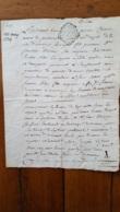 GENERALITE MONTPELLIER 1774  FRANCOISE PELISSON - Gebührenstempel, Impoststempel