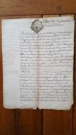 GENERALITE MONTPELLIER 1775 DIOCESE DE BEZIERS MONSEIGNEUR AYMARD CONSEILLER DU ROI - Matasellos Generales