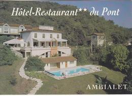 AMBIALET - Hôtel-Restaurant Du Pont - France